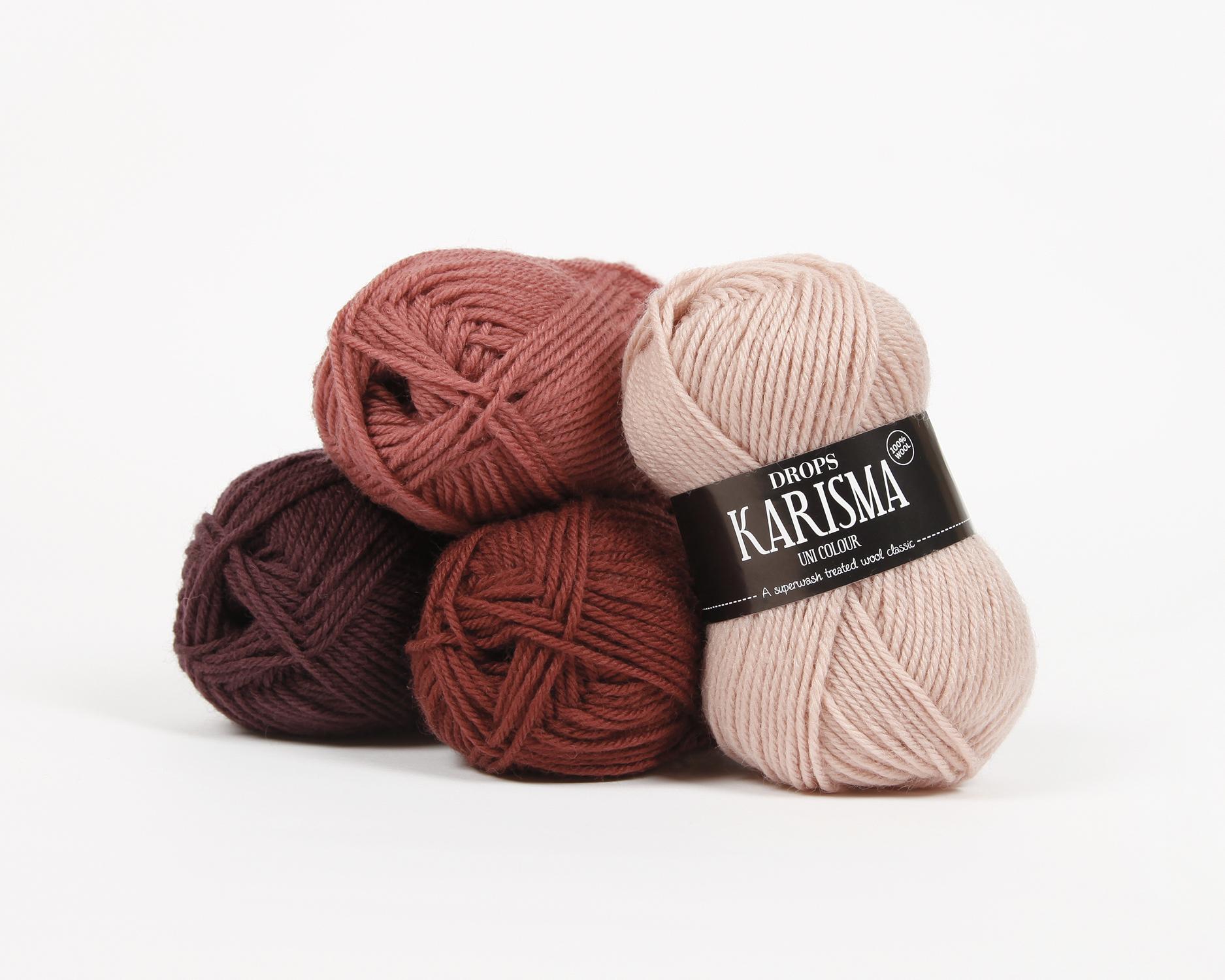 Nové farby DROPS Karisma a Merino Extra Fine