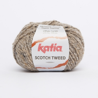 KATIA Scotch Tweed - 62 béžová
