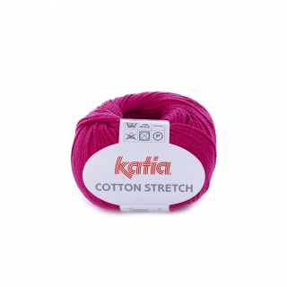 KATIA Cotton Stretch (87% bavlna, 13% polyester) návin 50g=170m