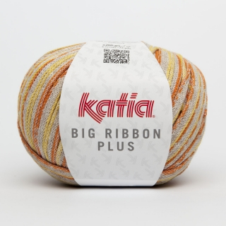 KATIA Big Ribbon Plus (50% bavlna, 50% polyester) návin 200g=72m